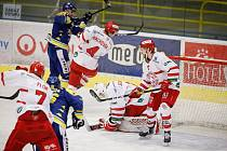 Hokejisté Frýdku-Místku v závěru základní části nestačili na Jihlavu.