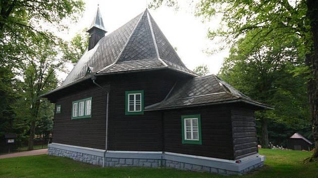 Kostel sv. Cyrila a Metoděje.