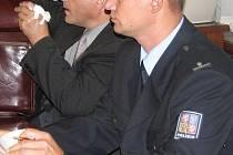 Policista Jiří Barták u frýdecko-místeckého soudu.