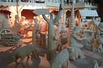 Tradiční expozice betlémů ve frýdecko-místecké tiskárně Kleinwächter.