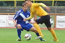 Bídná produktivita z posledních zápasů pokračovala i na západě Čech, kde fotbalisté Frýdku-Místku prohráli 1:0, když si v 67. minutě vstřelil vlastní branku obránce Žídek.