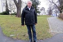 Správce hradu Hukvaldy Pavel Bernatský.