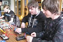 Studenti na třinecké střední odborné škole.
