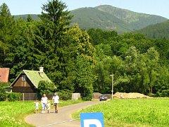 Z Ostravice mohou lidé vyrážet na výlety do okolních beskydských lesů.