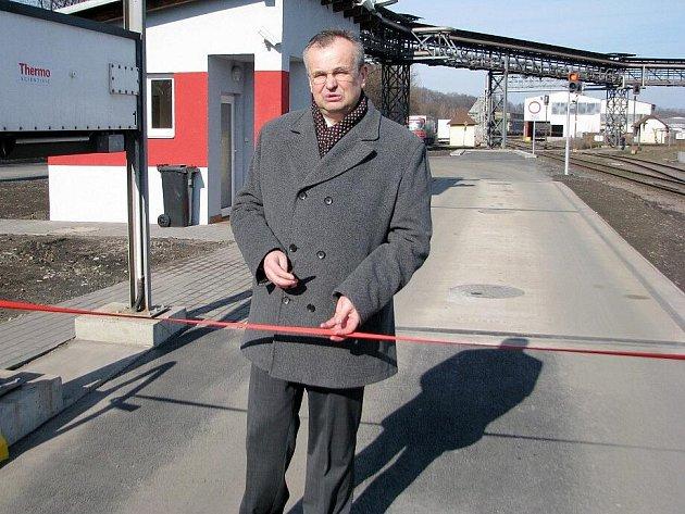 Investiční ředitel Třineckých železáren Jan Czudek.