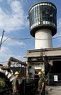 Sviadnovská kruhová těžní věž zůstane, je totiž prohlášena za národní technickou památku.