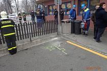 Snímek ze zásahu hasičů kvůli úniku plynu ve Frýdku-Místku.