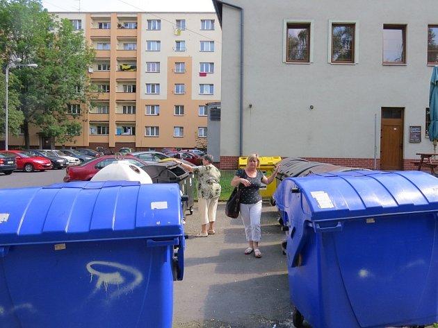 Zastáncem třídění odpadu je i Hana Lišková (na snímku vpravo).