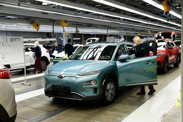 Hyundai vbřeznu odstartuje výrobu vozu Kona Electric na české půdě. Foto: Hyundai