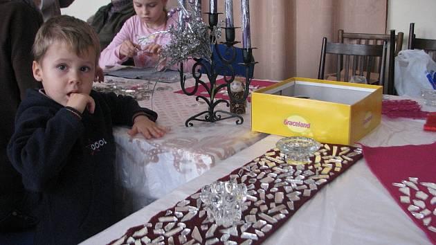 Vánoční dílny v Lidovém domě Místek.