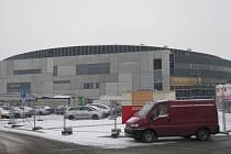 Stavba nové Werk arény v Třinci.