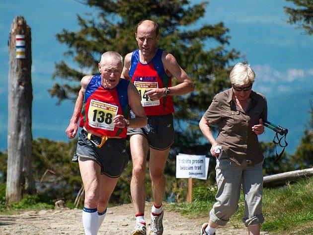 V Ostravici se konal již 6. ročník Horského běhu na Lysou horu.