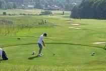 Ostravický golfový areál. Ilustrační foto.