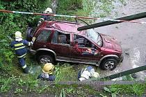 Sbor dobrovolných hasičů Jablunkov zasahoval v roce 2007 v Písku u dopravní nehody, kdy vůz skončil v řece. Nehoda si vyžádala tři zraněné.