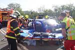 Nedělní nehoda u Bašky si vyžádala čtyři zraněné.