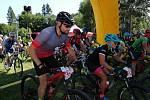 Sedmý ročník závodu Bike Čeladná odstartoval v sobotu v Beskydech. Foto: Deník/Tereza Liczmanová