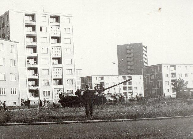 Okupační vojska obsadila vsrpnu 1968iFrýdek–Místek.
