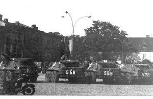 Okupační vojska obsadila v srpnu 1968 i Frýdek–Místek.