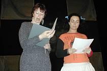 Moderátorky večera Renata Tomková a Ivana Linzerová.