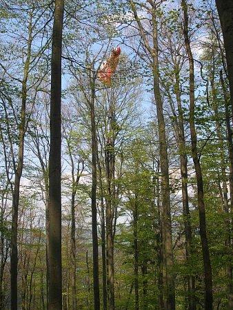 Záchrana polského paraglidisty vBeskydech.