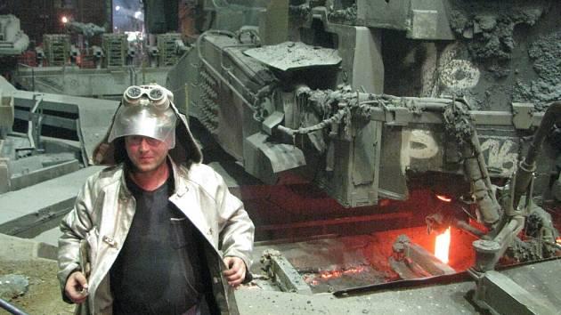 V Třineckých železárnách by to bez hutníků nešlo.