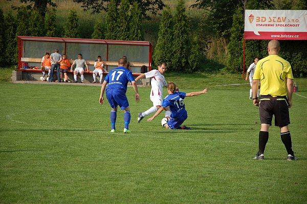 Derby mezi Sedlišti a Dobraticemi skončilo smírně 1:1.