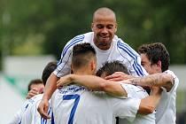 Frýdecko-místečtí fotbalisté se radují. Přehráli Karvinou 4:1!