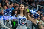 Utkání 45. kola Tipsport extraligy ledního hokeje se odehrálo 30. ledna v liberecké Home Credit areně. Utkaly se celky Bílí Tygři Liberec a HC Oceláři Třinec. Na snímku je roztleskávačka Tigers Cats.