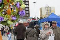 Velikonoční jarmak hostilo v úterý 26. března třinecké náměstí Svobody.