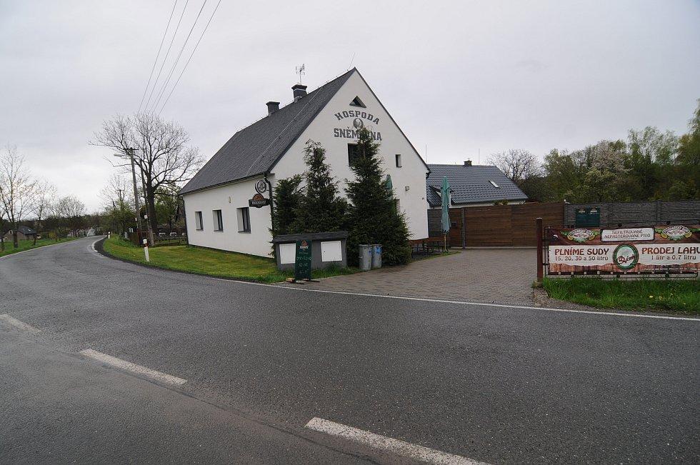 Hospoda Sněmovna v Kaňovicích.