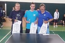 Ve sviadnovské tělocvičně proběhl tradiční turnaj ve stolním tenise.