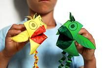 Ptáčci z papíru.