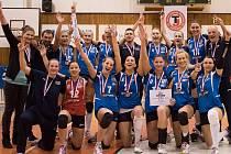 Volejbalistky Frýdku-Místku se v extralize radují po deseti letech z medaile. V sérii play-off o 3. místo po středeční domácí výhře 3:0 uspěly i v sobotu v Ostravě.