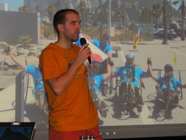 Cyklocetovatelé z různých koutů republiky dorazili do Frýdku-Místku na festival Cyklocestovaní, který do neděle hostí Nová scéna Vlast.