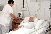 Jeden z pokojů Nemocnice Třinec