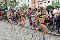Běžecký závod ve Frýdku-Místku.