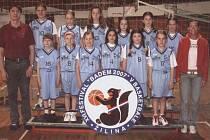 Nejmladší basketbalistky Frýdku-Místku.