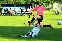 Jediný gól nakonec rozhodl souboj domácího Frenštátu s Čeladnou. Z výhry se radovali domácí fotbalisté.