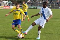 Ani fotbalisté Frýdku-Místku nezastavili rozjetý Zlín, kterému na domácím trávníku podlehli 0:2.