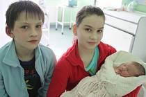 Magda Sabelová, Třinec-Guty, nar. 28. 2., 48 cm, 3,17 kg, Nemocnice Třinec.