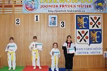 V kategorii žákyň zvítězila Aneta Dvořáková z frýdecko-místeckého Joomuk.