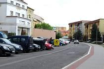 Stavba parkoviště.
