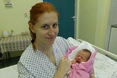 Adéla Kyselá s maminkou, Třinec, nar. 8.10., 46 cm, 3,12 kg, Nemocnice Třinec.