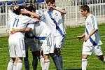 Fotbalisté Frýdku-Místku si v zápase třetí nejvyšší soutěže poradili na svém hřišti s Hulínem 5:1.