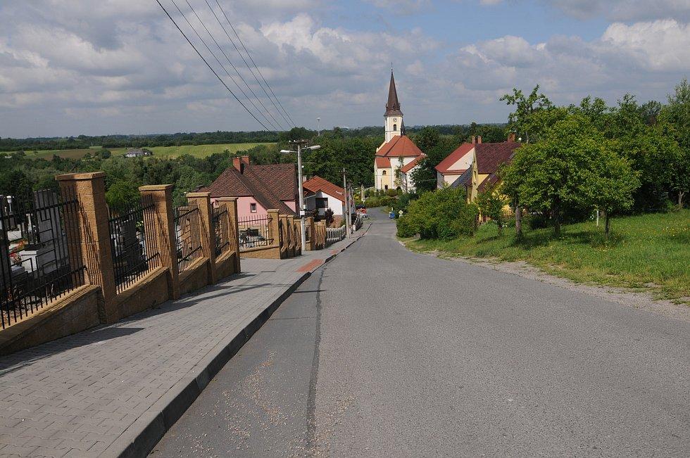 Obec Horní Domaslavice.