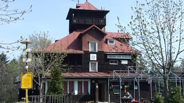 "Turistická chata ""Na Prašivé""."