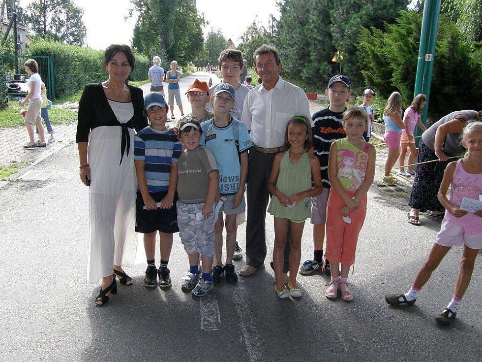 Seriál akcí Prázdniny v 3nci zamířil do Horní Lištné. Zábava na hranici měla u dětí velký úspěch.