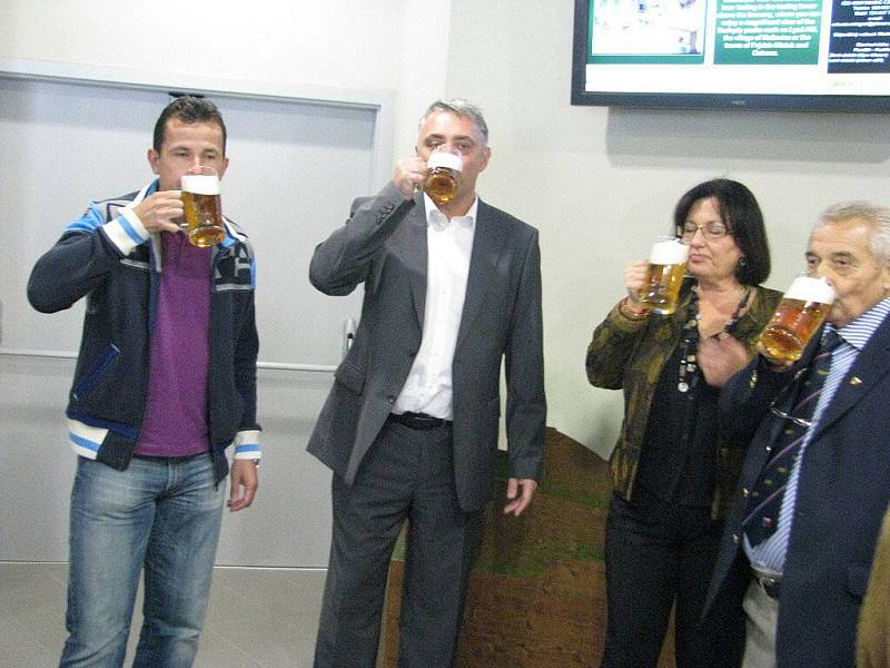 Ve středu 8.září Radegast slavnostně otevřel své nové Návštěvnické centrum.