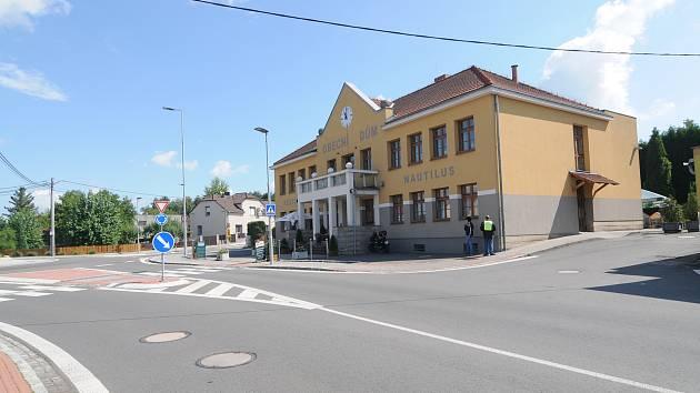 Na návštěvě v Krmelíně.