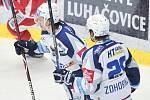 Utkání 14. kola hokejové extraligy: HC Oceláři Třinec vs. HC Kometa Group.